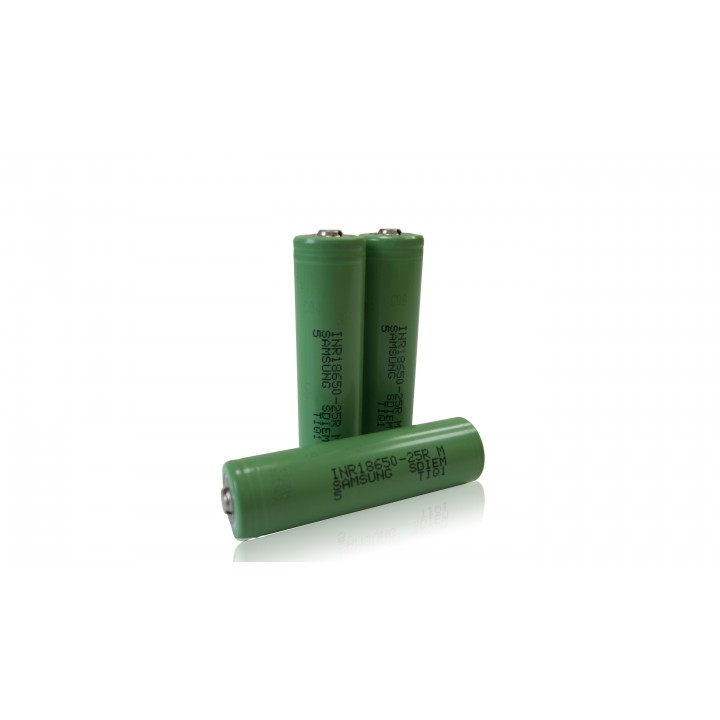 Аккумулятор Samsung INR 18650 25R TOP(3.7B 2500Mah 20A)