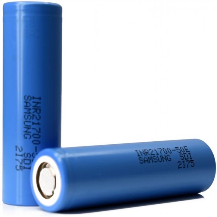 Аккумулятор Samsung INR 21700-50E (3.7B 5000Mah 10A)