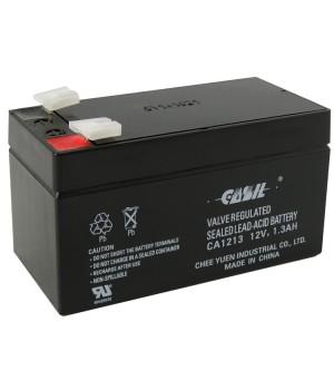 Аккумулятор свинцово-кислотный CASIL CA1213 12V 1,3Ah
