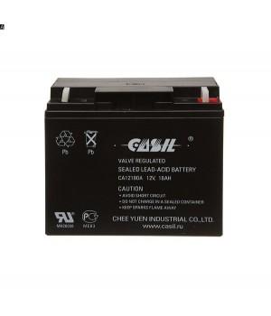 Аккумулятор свинцово-кислотный CASIL CA12180 12V 18Ah