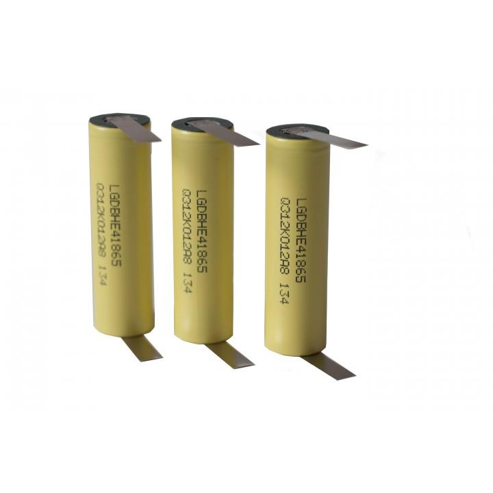 Li-ion аккумуляторы с выводами LG ICR 18650 HE4K