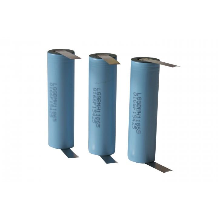 Li-ion аккумуляторы с выводами LG INR 18650 MH1K