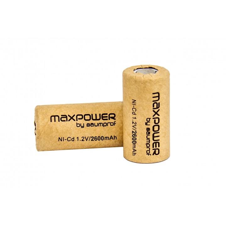 Аккумулятор Maxpower MX-SC-2.6+