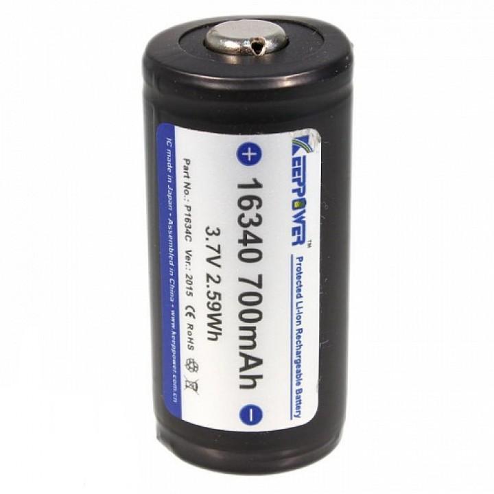 Аккумулятор KeepPower 16340 P1634C (700)