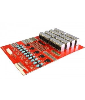 Плата защиты для литиевых аккумуляторов c балансиром 10S(37.0V/80А) Maxpower