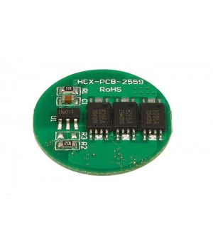 Плата защиты для литиевых аккумуляторов 1S(3.7V/5А) Maxpower