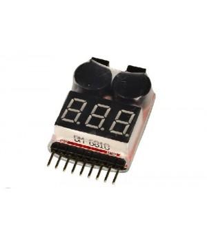 Индикатор напряжения для Li-Ion/Li-Pol аккумуляторных батарей F013M