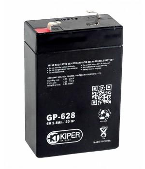 Аккумуляторная батарея Kiper GP-628 (6V/2.8 Ah)