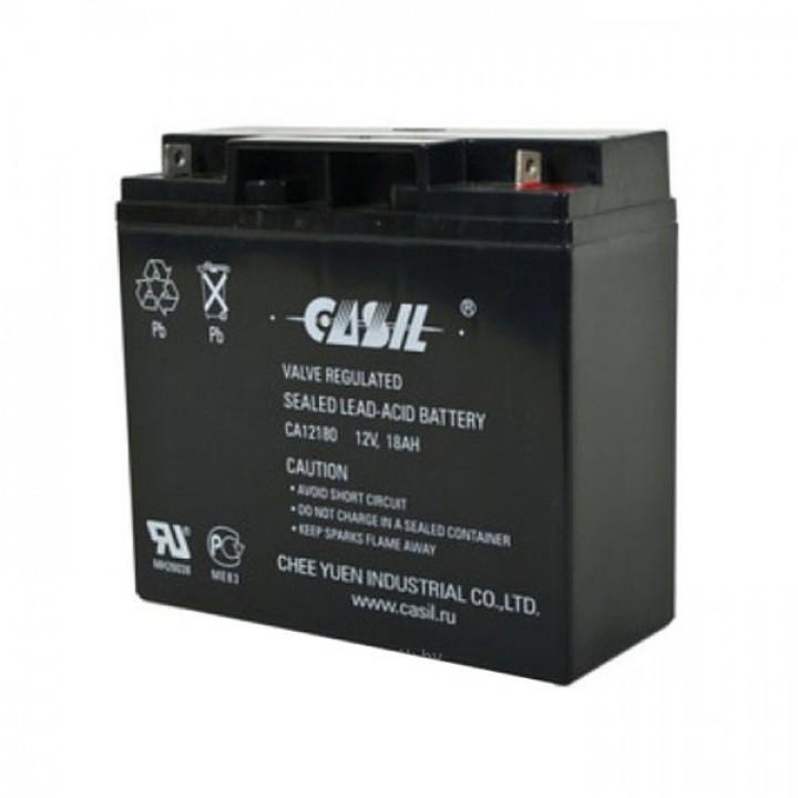 Аккумулятор свинцово-кислотный CASIL CA12180A (12V 18Ah)