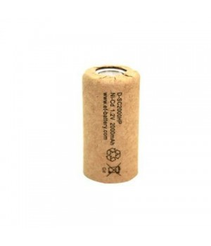 Аккумулятор ET Ni-CD (1.2 B, 2.0 А/ч) ET D-SC2000HP