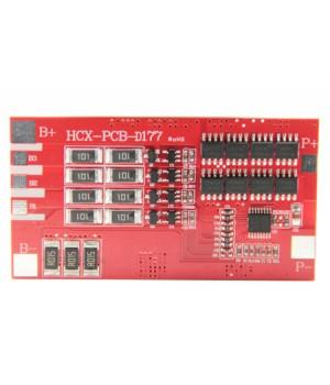 Плата защиты для литиевых аккумуляторов c балансиром 3S/4S(11.1V/14.8V/16А) Maxpower