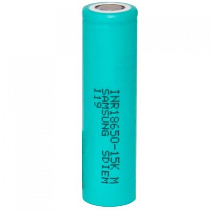 Аккумулятор Samsung Li-ion (3.6 В, 1.5 А/ч) INR 18650-15K