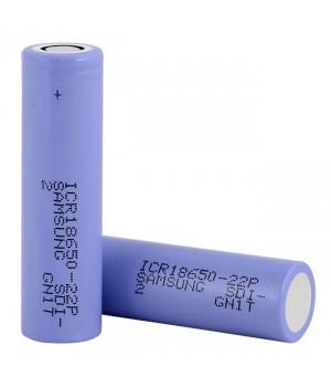 Аккумулятор Samsung Li-ion (3.6 В, 2.2 А/ч) ICR 18650-22P