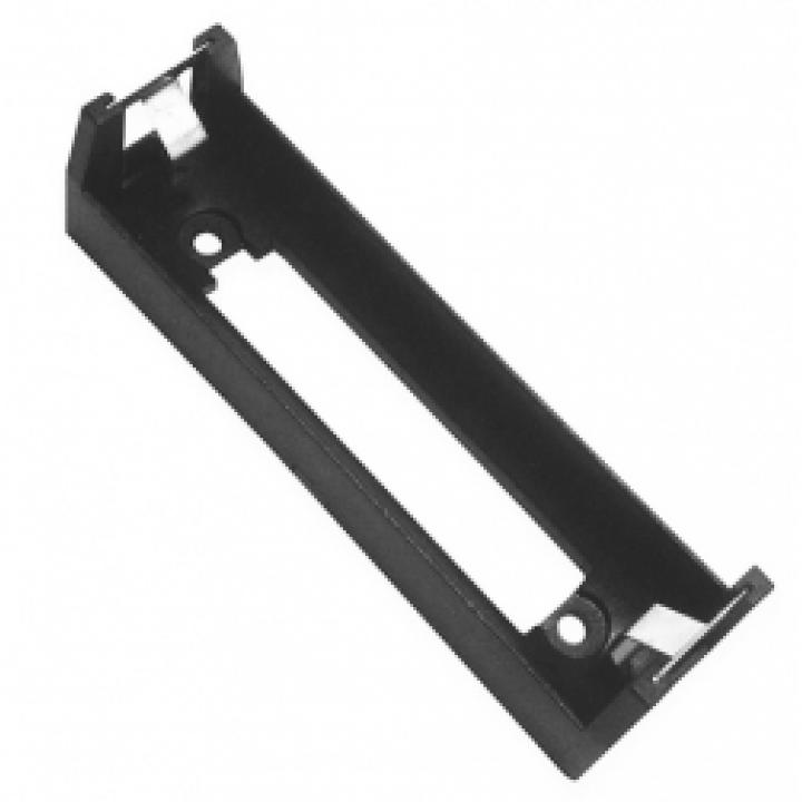 Батарейный отсек COMF для 1хMR18650 с выводами, чёрный  (до 50В) BHC-18650-1A
