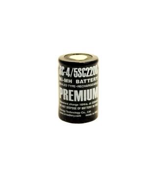 Аккумулятор ET Ni-Mh (1.2 В, 2.2 А/ч) ET RC-4/5SC2200