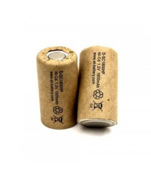 Аккумулятор ET Ni-CD (1.2 B, 1.8 А/ч) ET D-SC1800HP