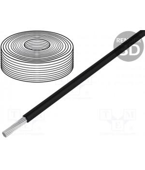 Провод HELUKABEL SIF4.00-B (1x4mm2) силиконовый черный (до 50В)  SIF4.00-B