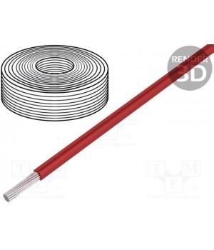 Провод HELUKABEL SIF4.00-R (1x4mm2) силиконовый красный (до 50В)  SIF4.00-R