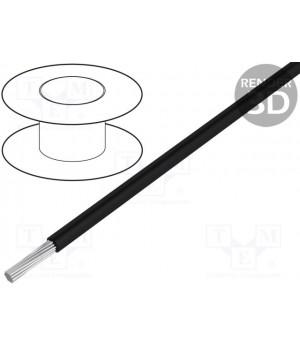 Провод LAPP KABEL HEAT180SIF-2.5BK (1x2,5mm2) силиконовый черный (до 50В) HEAT180SIF-2.5BK