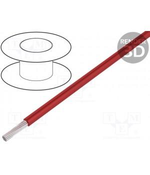 Провод LAPP KABEL HEAT180SIF-2.5RD (1x2,5mm2) силиконовый красный (до 50В) HEAT180SIF-2.5RD