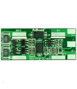 Плата защиты для литиевых аккумуляторовr с балансиром 2S(7.4V/4А) Maxpower
