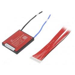 Плата защиты DALY для li-ion батареи  (13S 48.1В 18А) PCM-L13S18DLY48.1V