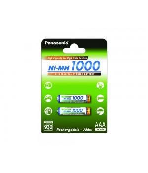 Аккумулятор Panasonic  Ni-MH AAA (1.2 B, 1000 мА/ч) BK-4HGAE