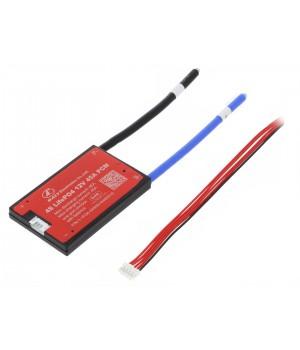 Плата защиты DALY для Li-FePO4  батареи  (4S 12.8В 45А)
