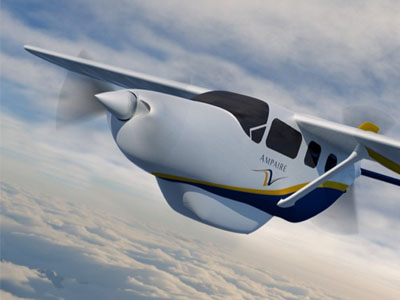 Ampaire объявила о первом полете гибридного самолета