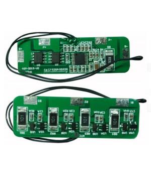 Плата защиты для литиевых аккумуляторов c балансиром 4S (14.8V/4А) Maxpower