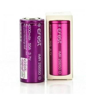 Аккумулятор Efest  Li-ion (3.7 В, 4.2 А/ч) IMR26650 4200mAh