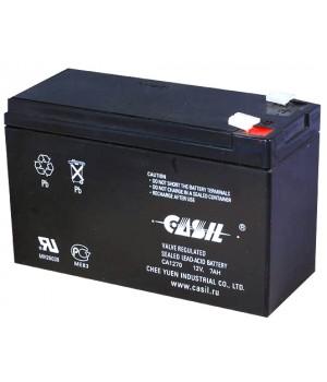 Аккумулятор свинцово-кислотный CASIL CA1270A 12V 7Ah