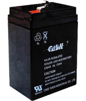 Аккумулятор свинцово-кислотный CASIL CA645 6V 4,5Ah