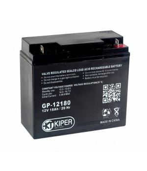 Аккумуляторная батарея Kiper GP-12180 12V/18Ah