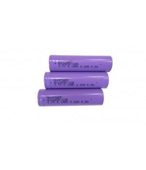 Аккумулятор MX 18650 22B (3.7B 2.2A/ч)