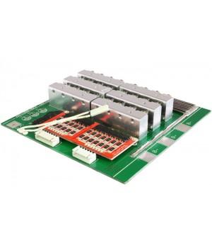 Плата защиты для li-ion батареи c балансиром и термореле 13S (48.1V/65А) Maxpower