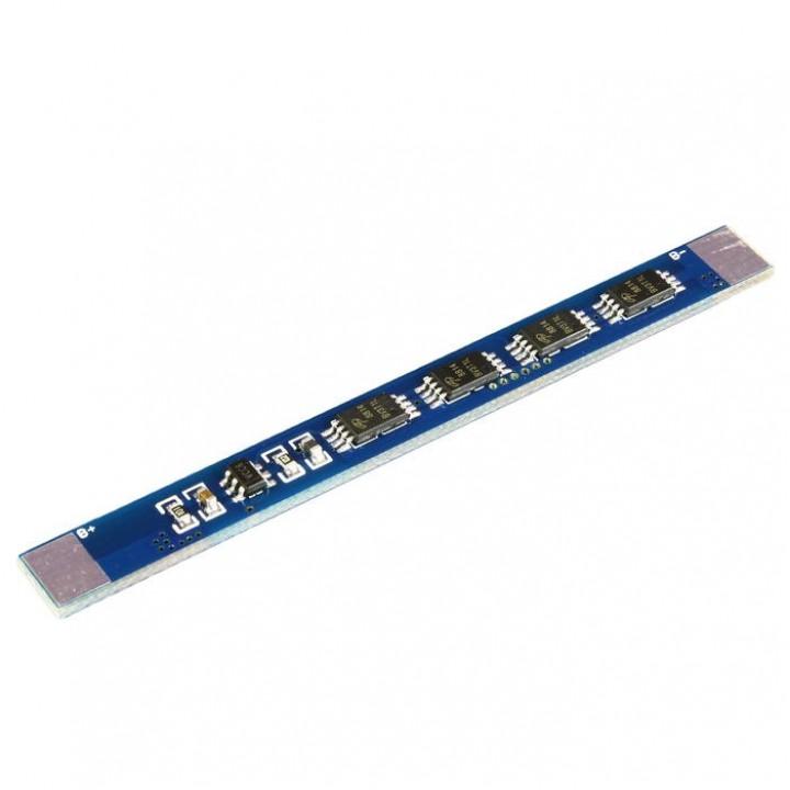 Плата защиты для литиевых аккумуляторов 1S(3.7V 7А)(4 mosfet) Maxpower