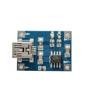 Миниатюрное зарядное устройство F011M с miniUSB разъемом