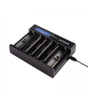 Зарядное устройство Xtar MC6 для li-ion аккумуляторов