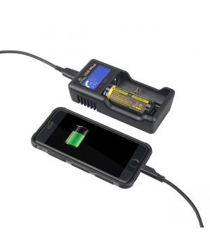 Зарядное устройство Xtar VC2 Plus для li-ion аккумуляторов
