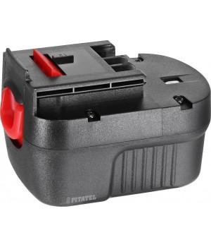 Аккумуляторная батарея Ni-Cd A12, A12EX, A12-XJ, FS120B, FSB12, HPB12 для инструмента BLACK&DECKER 12V 2.0Ah TSB-018-BD12B-20C