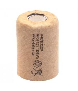 Аккумулятор ET Ni-CD (1.2 В, 1.2 А/ч) ET D-4/5SC1200P