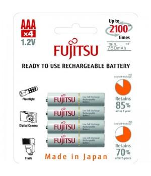 Аккумулятор Fujitsu Ni-Mh AAA (1.2V, 750 мА/ч) белый