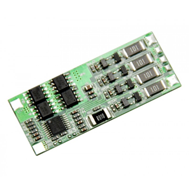 Плата защиты для литиевых аккумуляторов c балансиром 3S/4S(11.1V/14.8V/8А) Maxpower