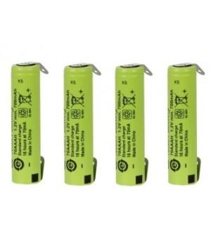 Аккумулятор с выводами GP Ni-MH AAA/R03 (1.2 B, 700 мА/ч) GP 70AAAH-BK
