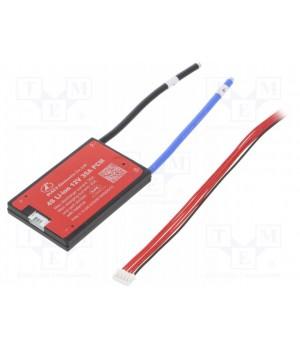 Плата защиты DALY для li-ion батареи (4S 14.8В 35А) PCM-L04S35DLY14.8V