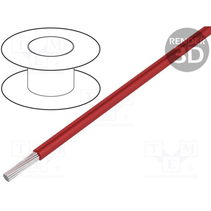 Провод LAPP KABEL HEAT180SIF-4.0RD (1x4mm2) силиконовый красный (до 50В) HEAT180SIF-4.0RD
