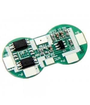 Плата защиты для литиевых аккумуляторов  с NTC 10K 2S(7.4В/4А) Maxpower