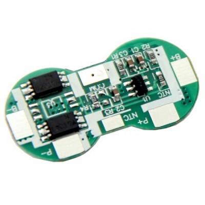 Плата защиты для литиевых аккумуляторов с поддержкой термореле 2S(7.4V/4А)T Maxpower