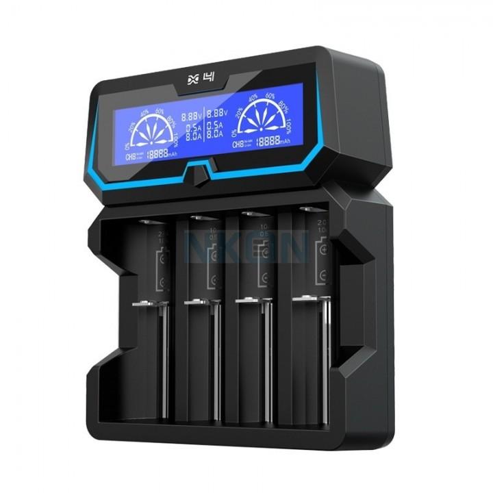 Зарядное устройство Xtar X4 для аккумуляторных элементов (в комплекте с сетевым кабелем)